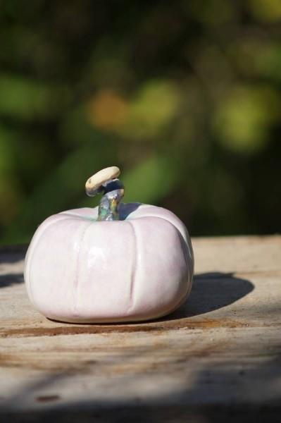 kürbis rosa keramik