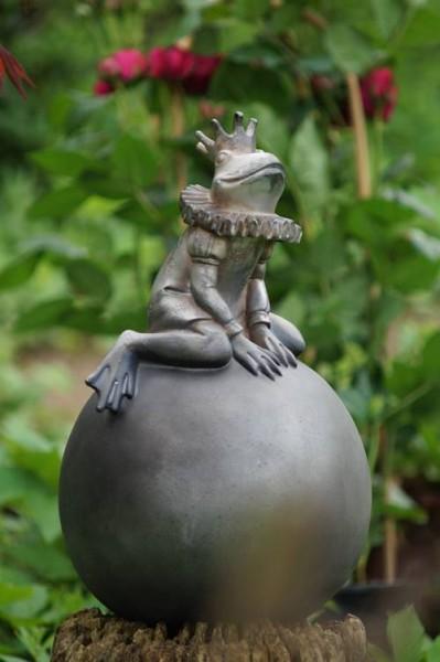 frosch vally auf kugel