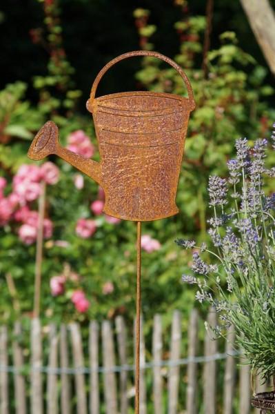 Gartenstecker Gießkanne